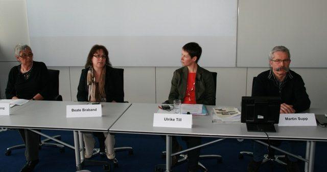 Arbeitskreis Forensische Psychiatrie Transparent am 14. März 2011