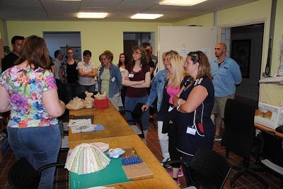 Besuchertag für Angehörige von Mitarbeiterinnen und Mitarbeitern in der Klinik Nette-Gut