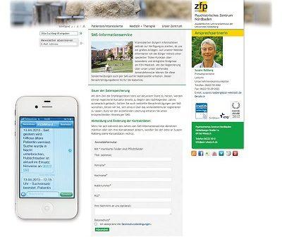 SMS-Pushdienst informiert über Vorkommnisse am PZN
